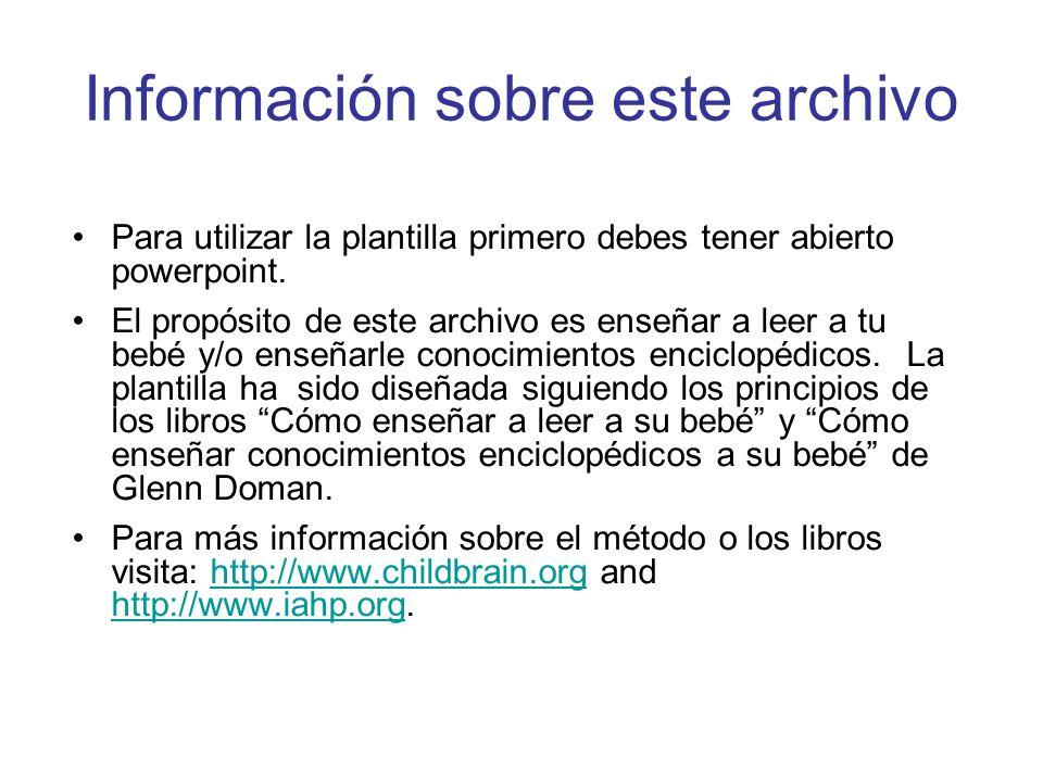 Información sobre este archivo