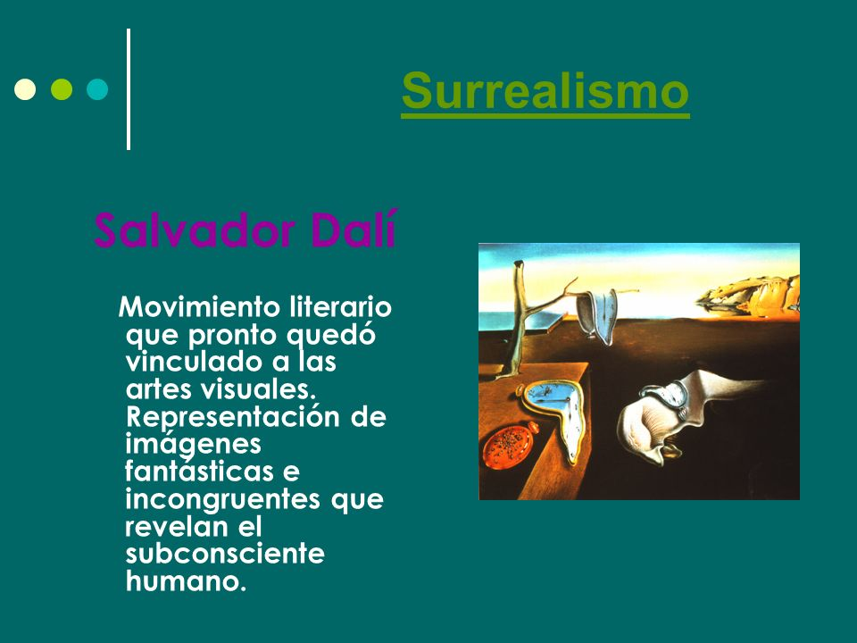 Surrealismo Salvador Dalí