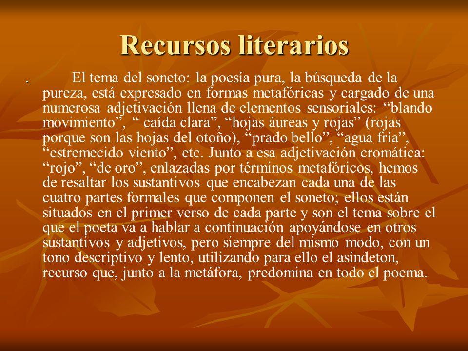 Recursos literarios