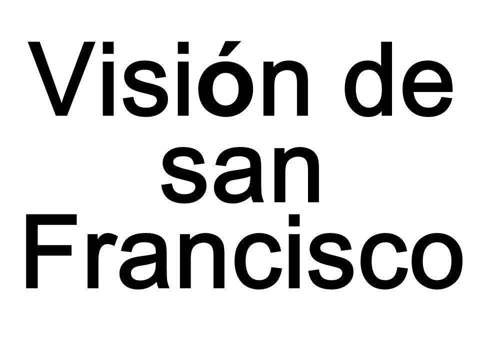 Visión de san Francisco
