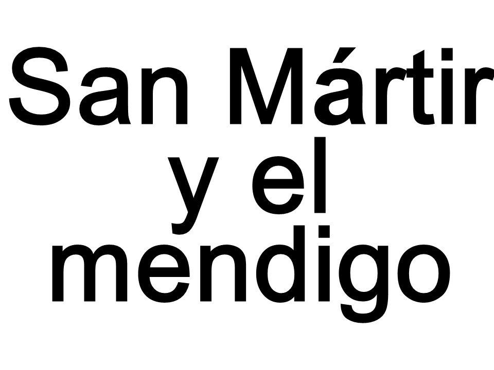 San Mártir y el mendigo