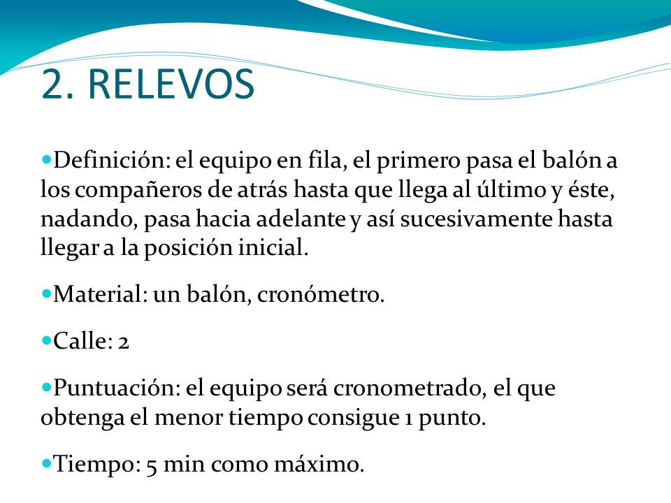 2. RELEVOS
