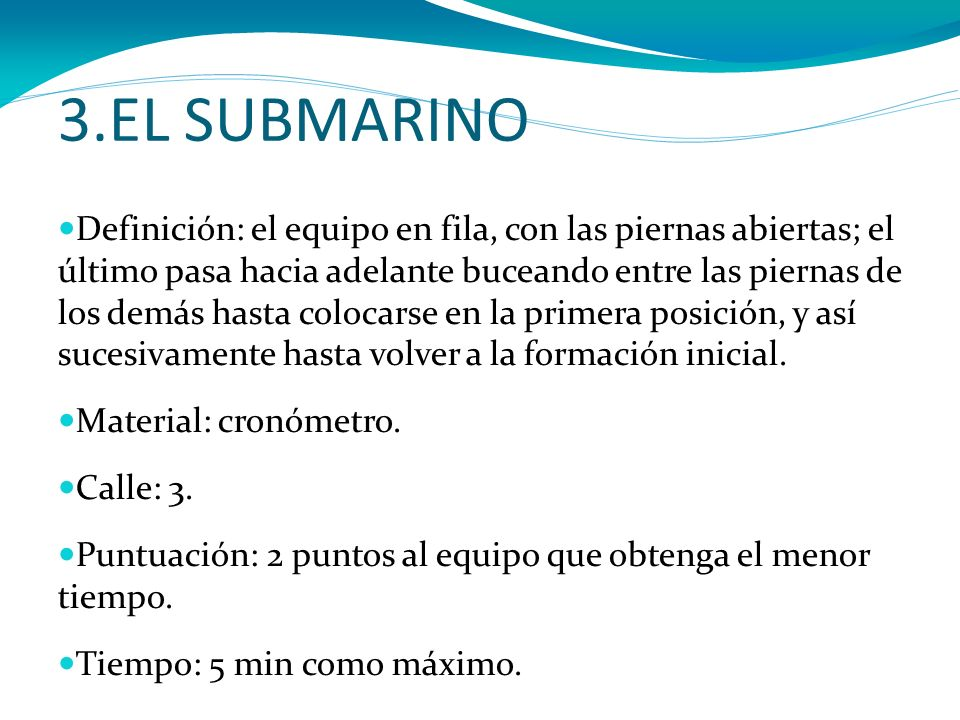 3.EL SUBMARINO