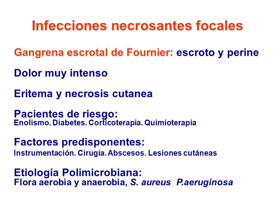 Infecciones necrosantes focales