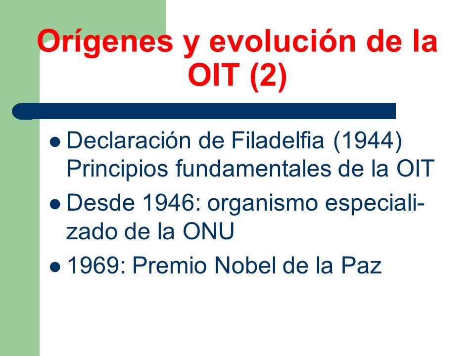Orígenes y evolución de la OIT (2)