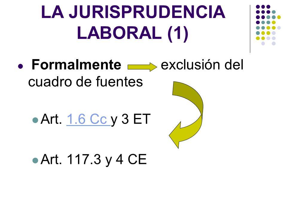 LA JURISPRUDENCIA LABORAL (1)