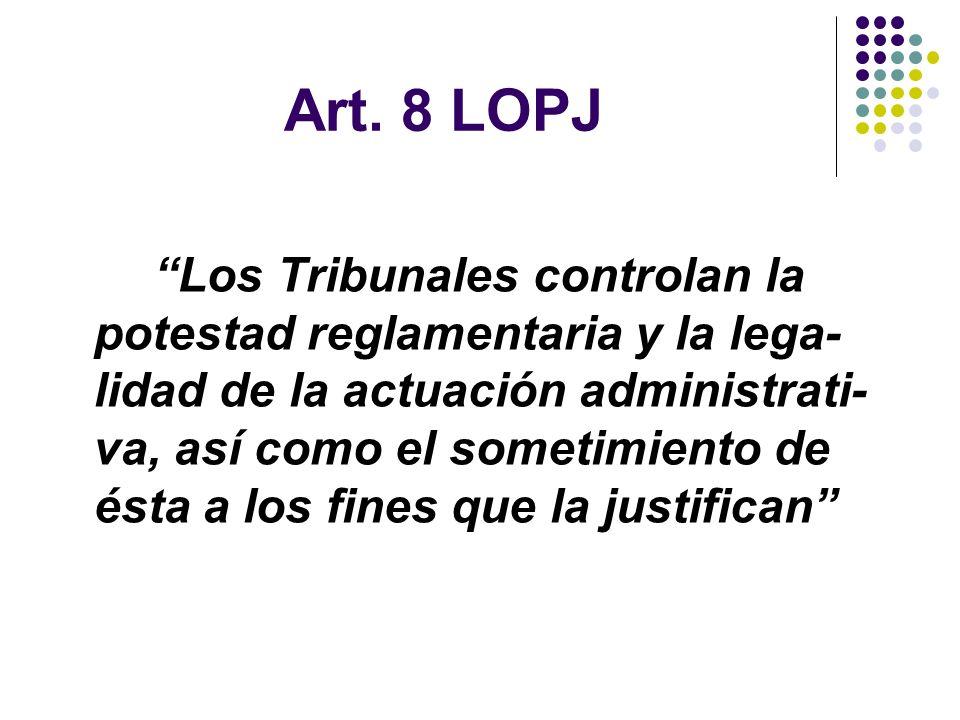 Art. 8 LOPJ