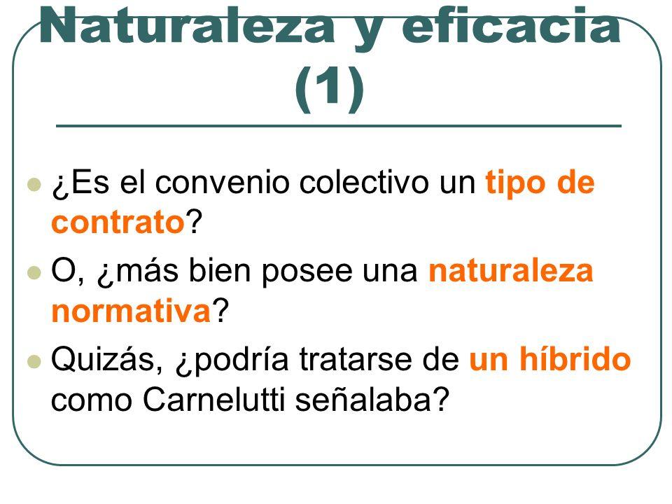 Naturaleza y eficacia (1)