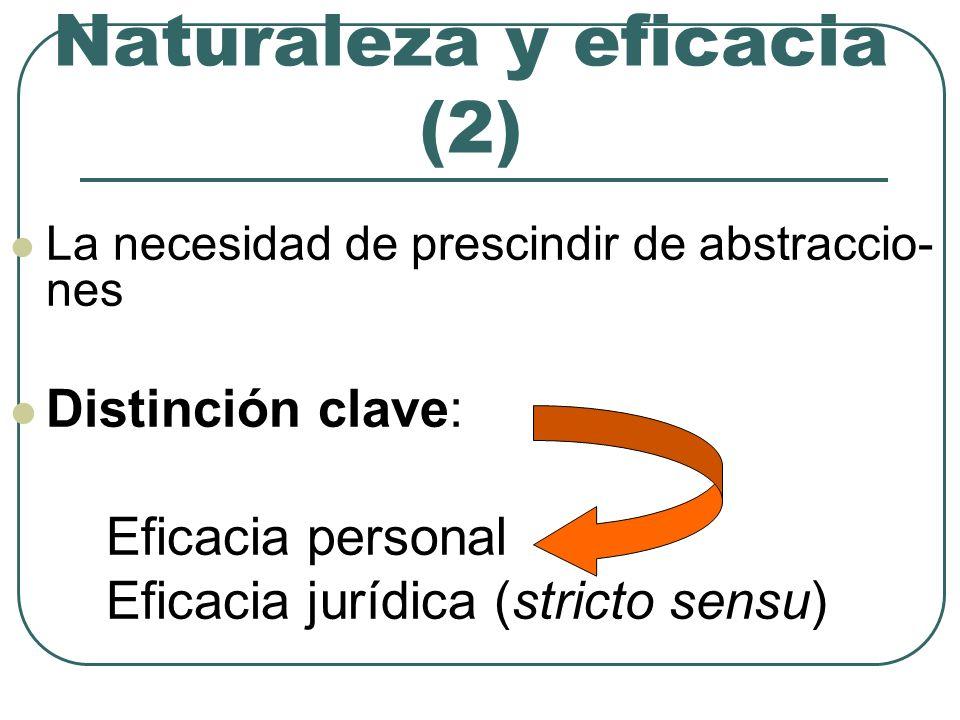 Naturaleza y eficacia (2)