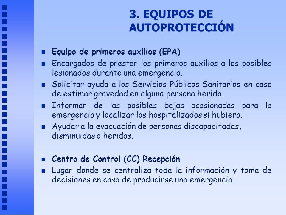 3. EQUIPOS DE AUTOPROTECCIÓN