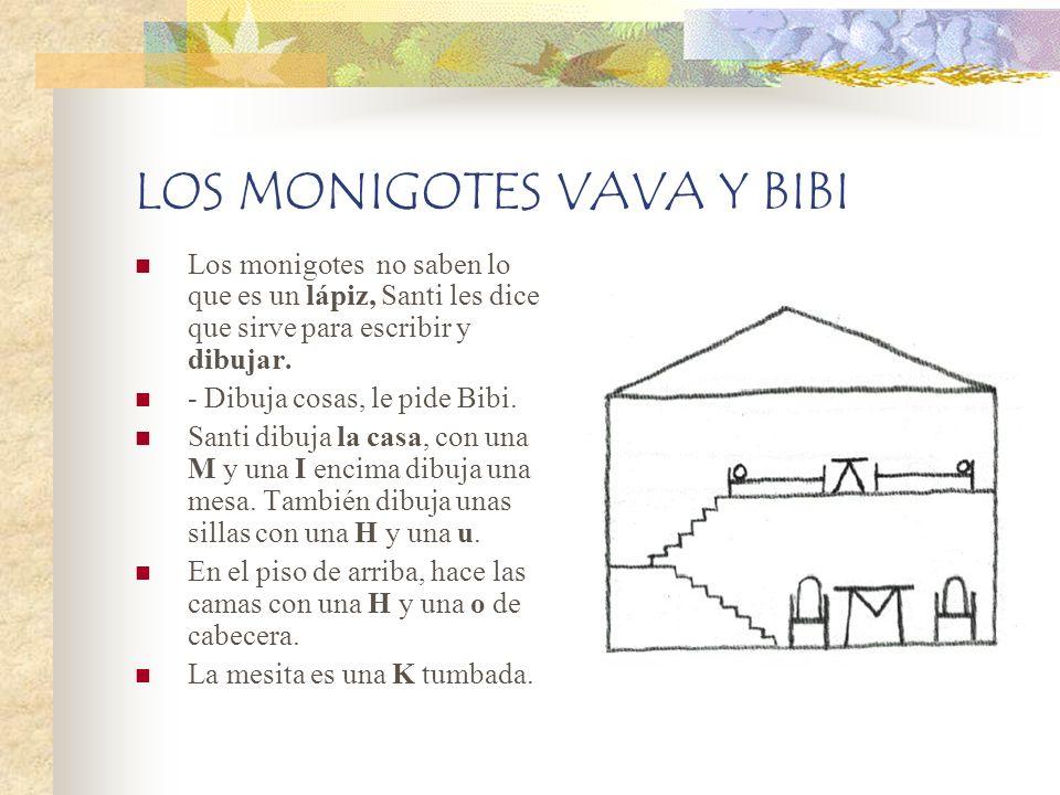 LOS MONIGOTES VAVA Y BIBI