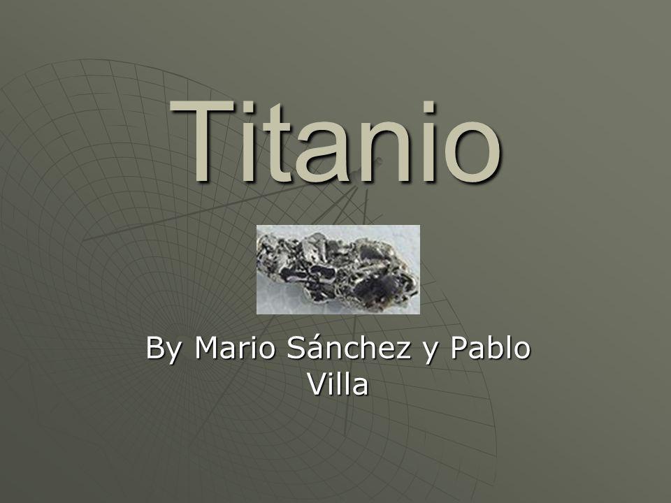 By Mario Sánchez y Pablo Villa