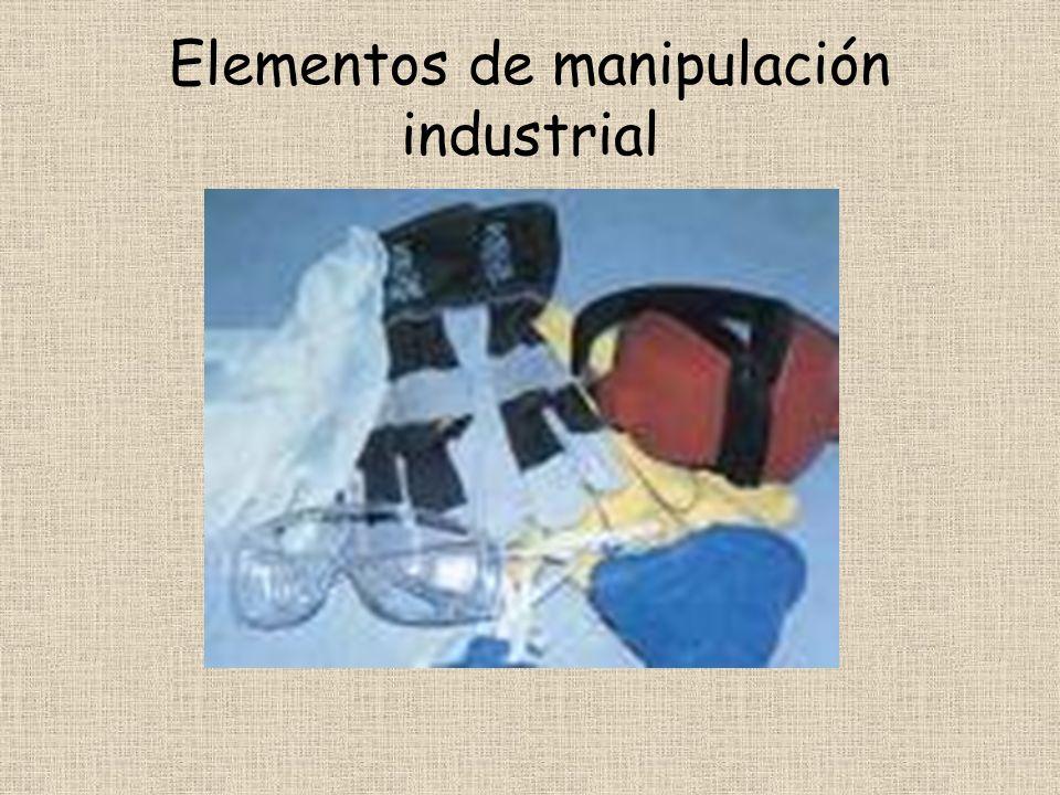 Elementos de manipulación industrial