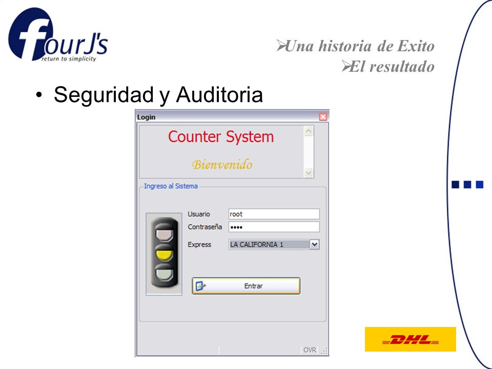 Una historia de Exito El resultado Seguridad y Auditoria