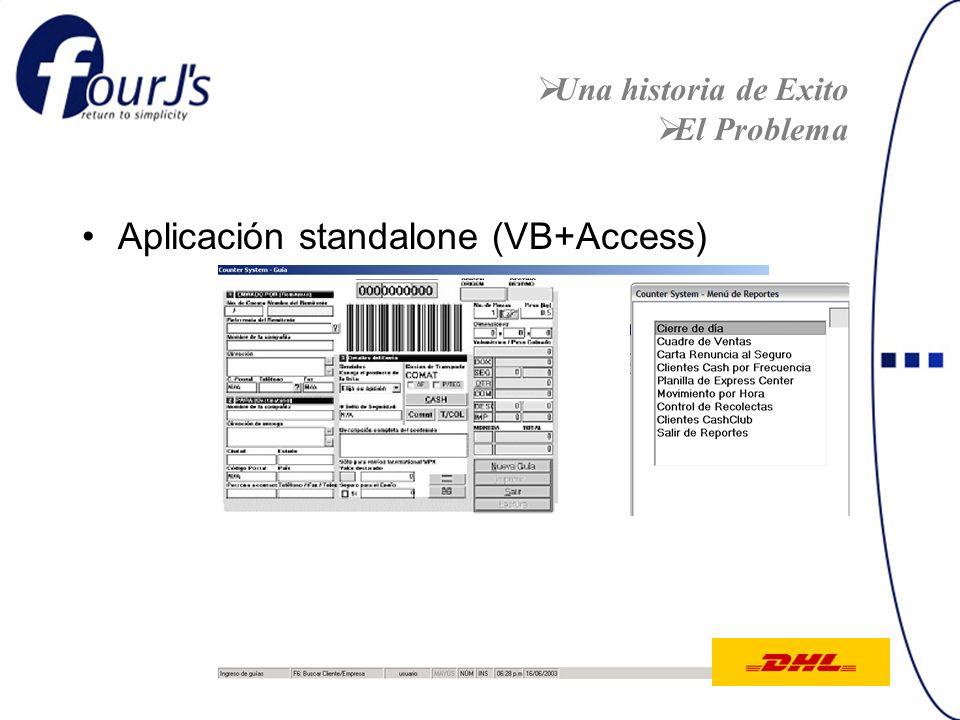 Aplicación standalone (VB+Access)