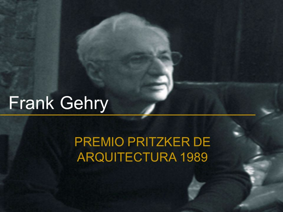 PREMIO PRITZKER DE ARQUITECTURA 1989