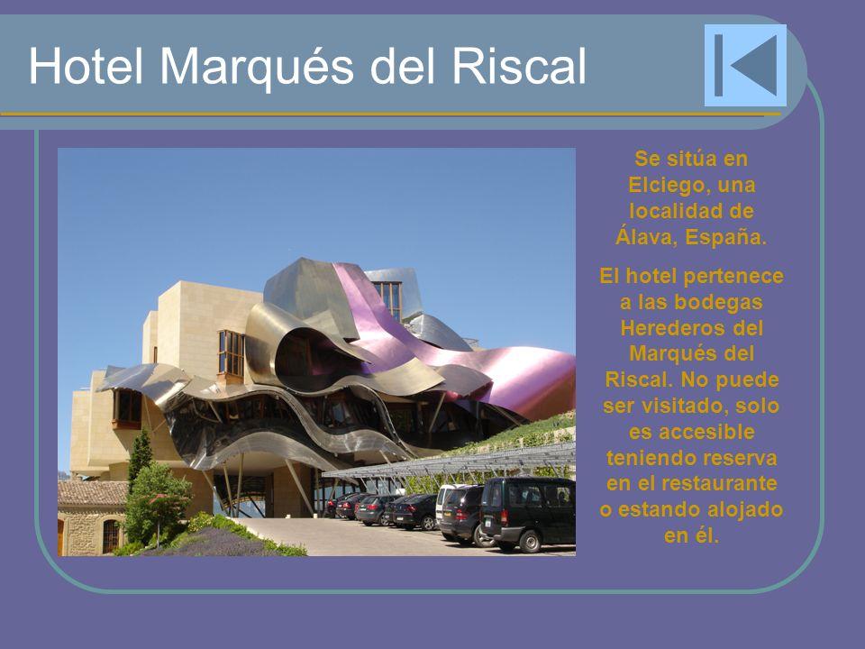 Hotel Marqués del Riscal