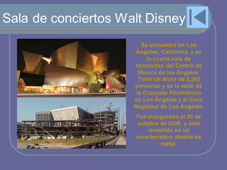 Sala de conciertos Walt Disney