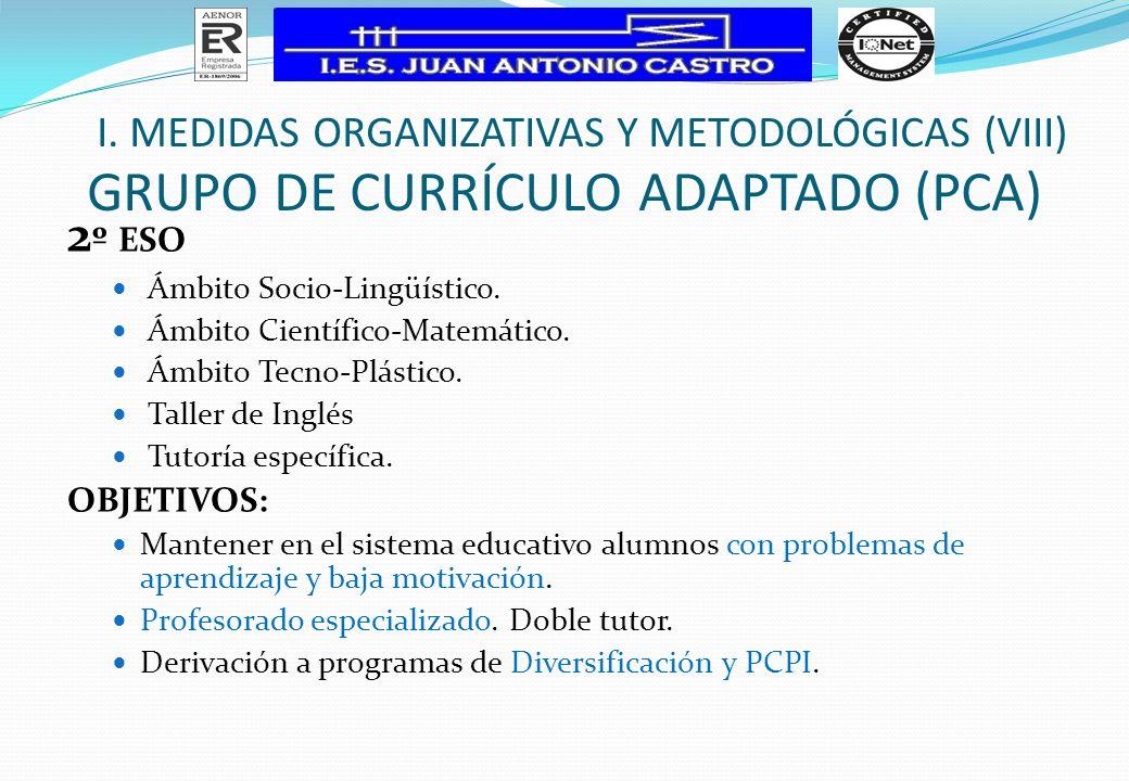 Grupo de Currículo Adaptado (PCA)