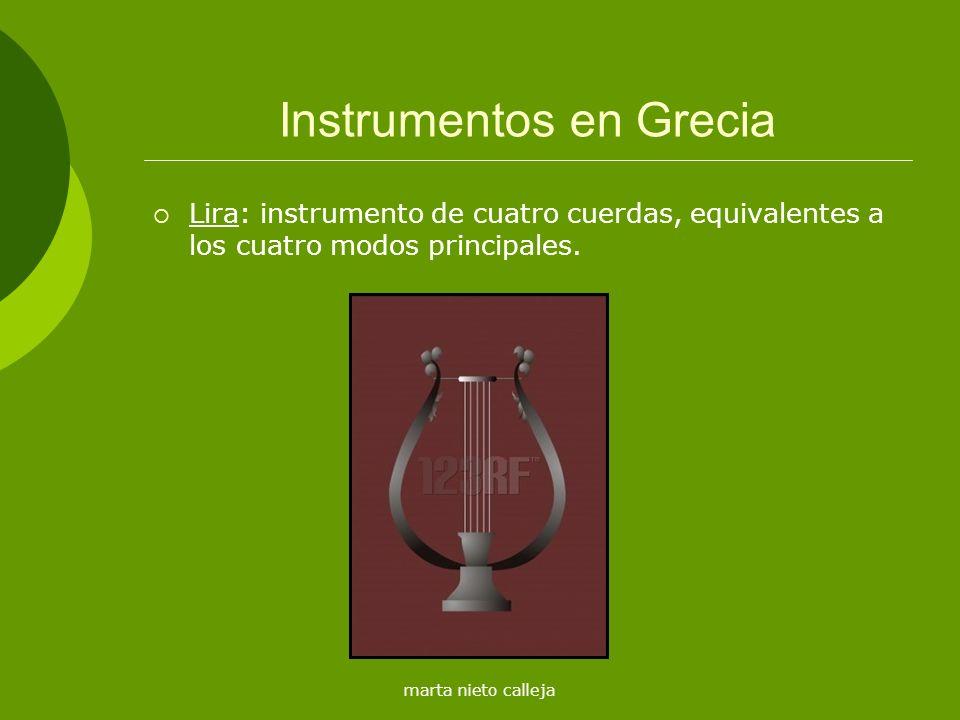 Instrumentos en Grecia