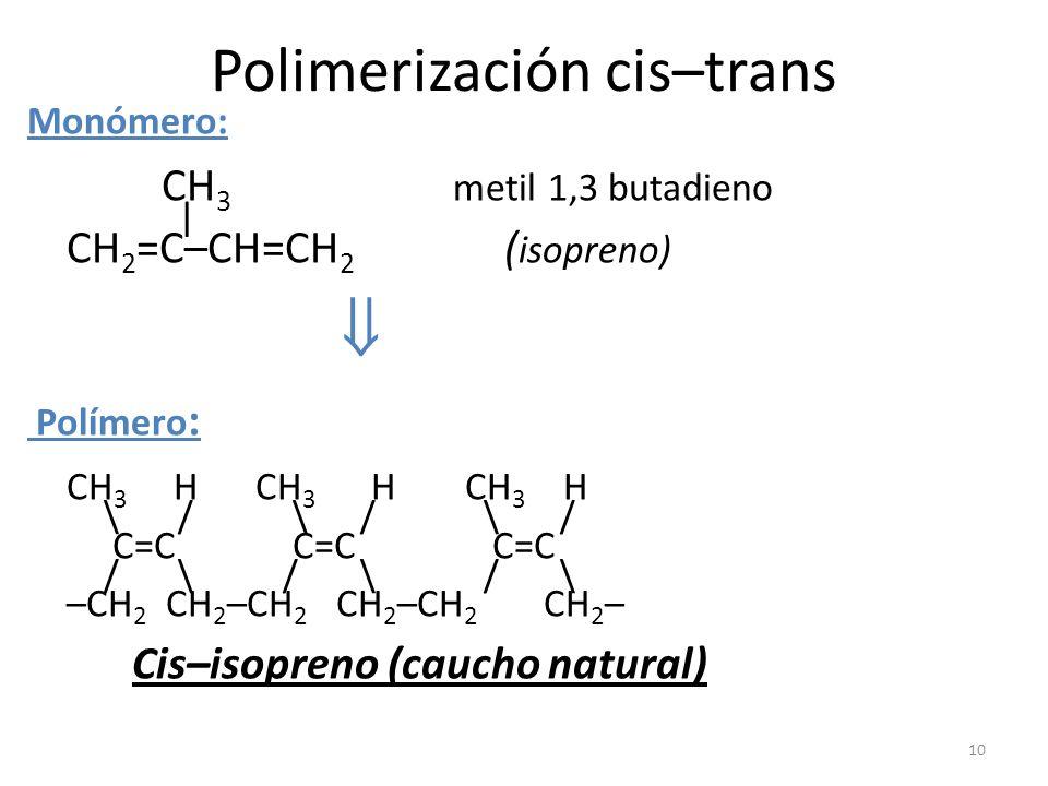 Polimerización cis–trans