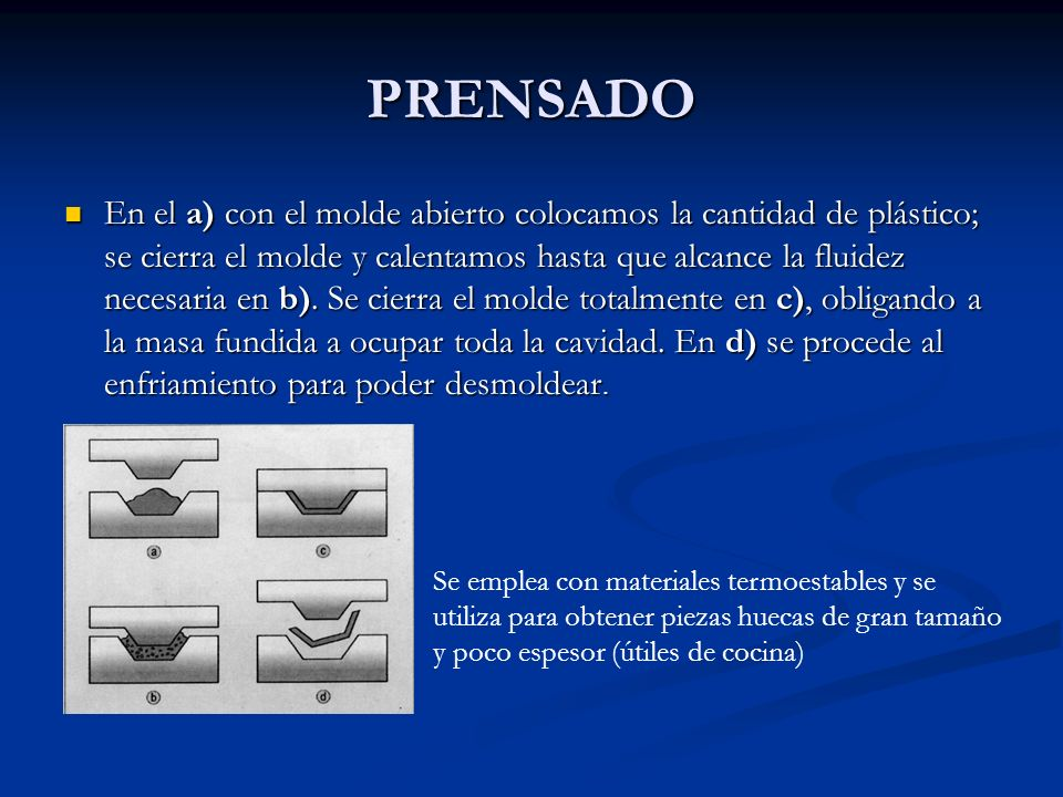 PRENSADO