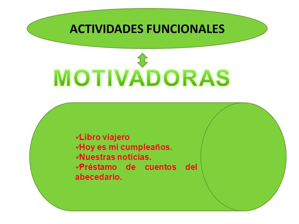ACTIVIDADES FUNCIONALES