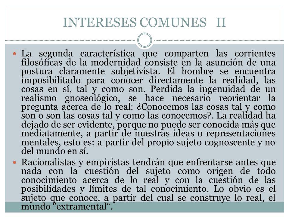 INTERESES COMUNES II