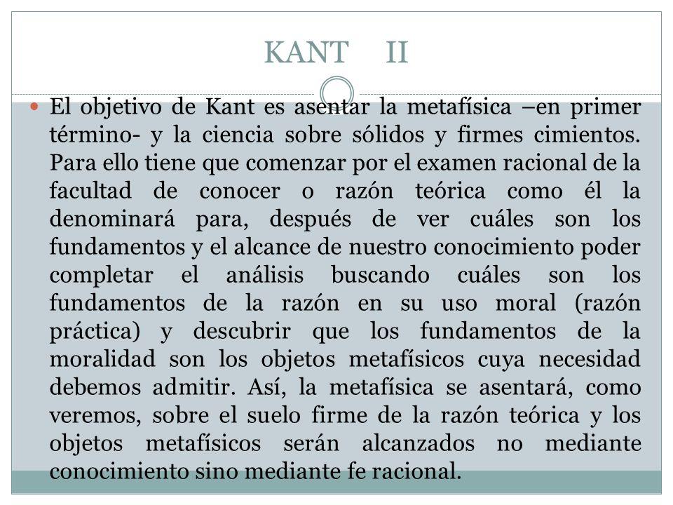 KANT II