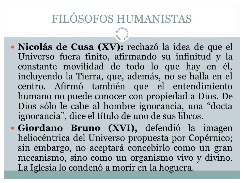 FILÓSOFOS HUMANISTAS