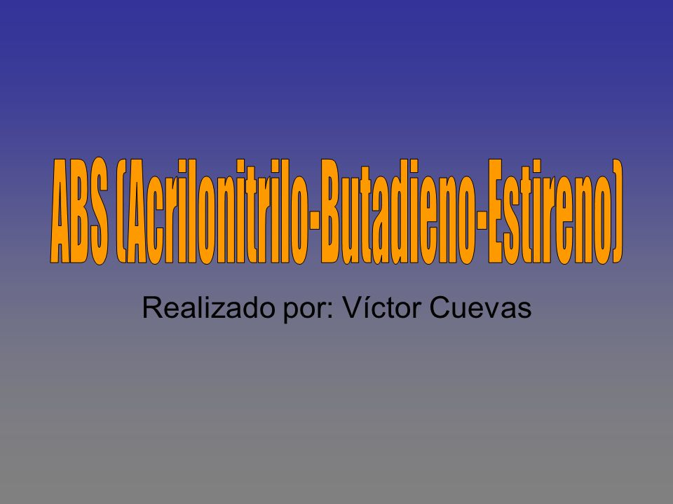 Realizado por: Víctor Cuevas