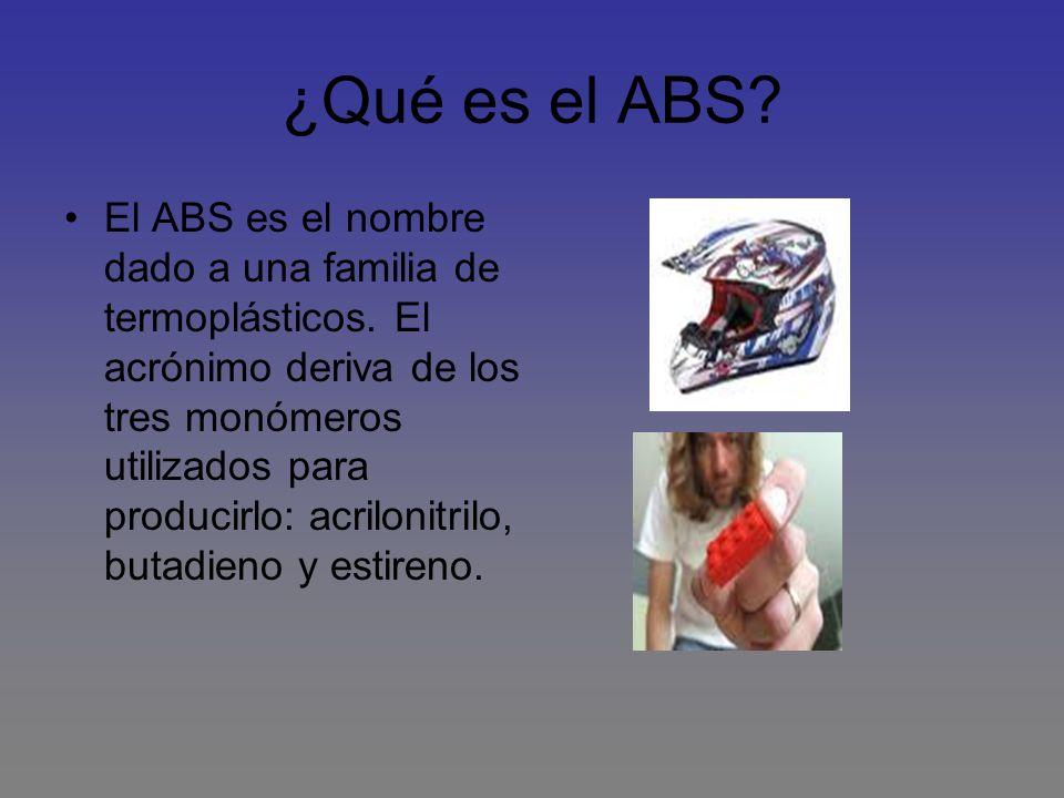 ¿Qué es el ABS