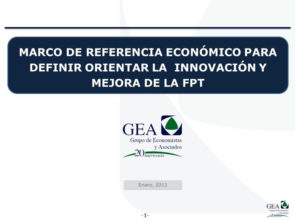 MARCO DE REFERENCIA ECONÓMICO PARA DEFINIR ORIENTAR LA INNOVACIÓN Y ...