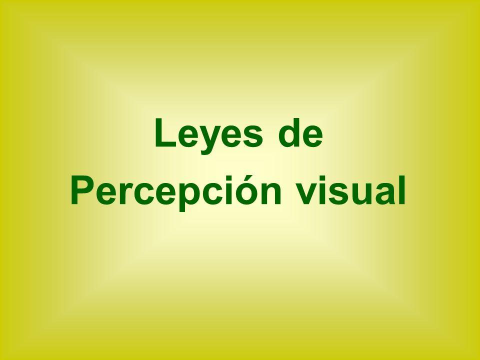 Leyes de Percepción visual