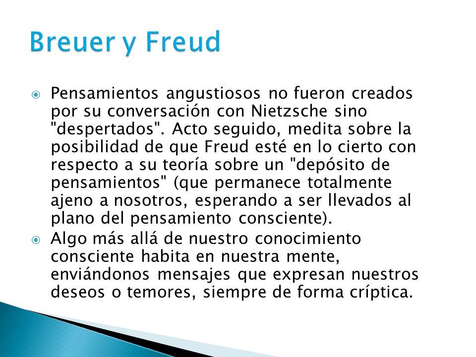 Breuer y Freud