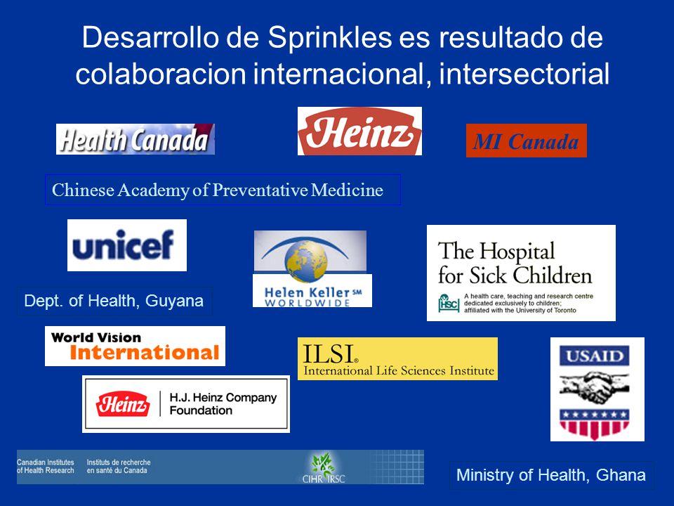 Desarrollo de Sprinkles es resultado de colaboracion internacional, intersectorial