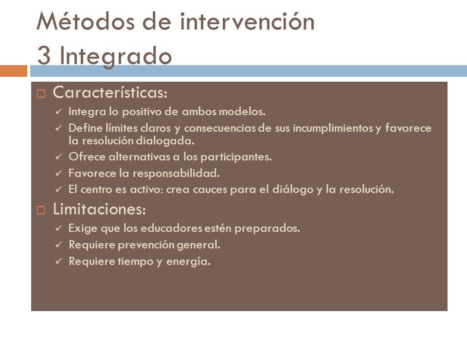Métodos de intervención 3 Integrado