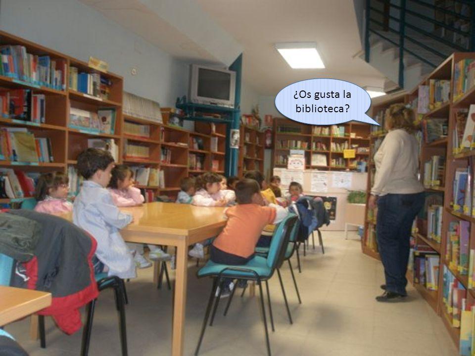 ¿Os gusta la biblioteca