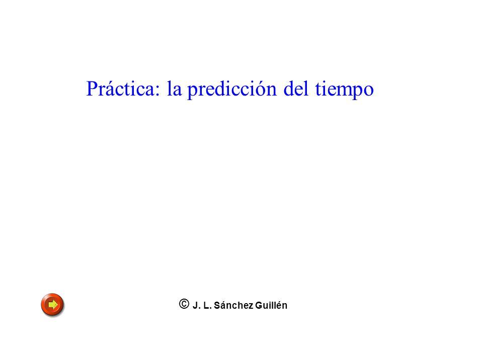 Práctica: la predicción del tiempo