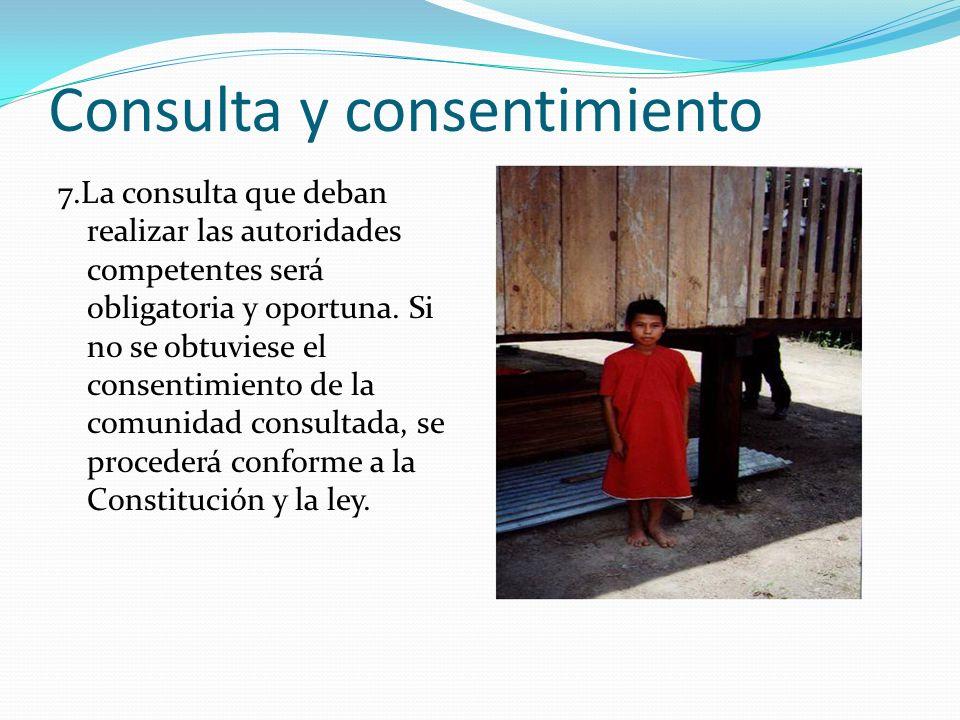 Consulta y consentimiento