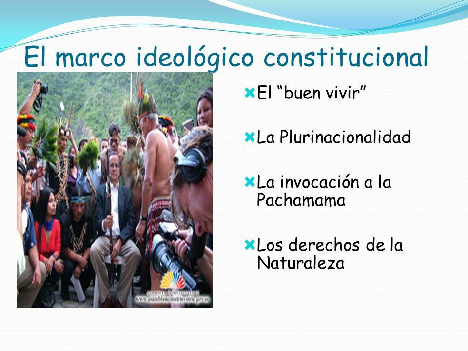 El marco ideológico constitucional