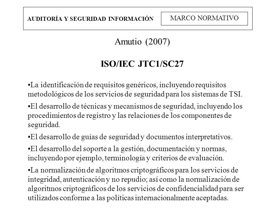 Amutio (2007) ISO/IEC JTC1/SC27