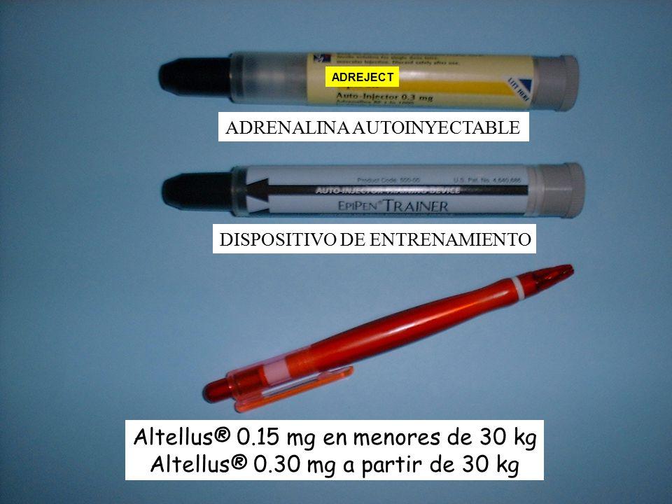 Altellus® 0.15 mg en menores de 30 kg
