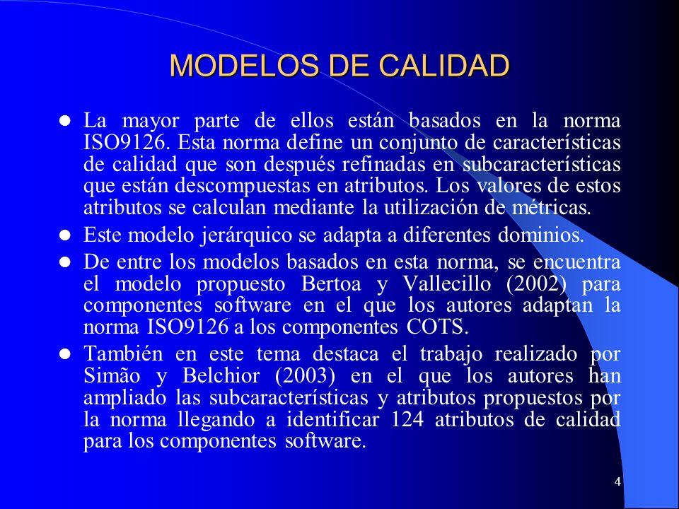 MODELOS DE CALIDAD
