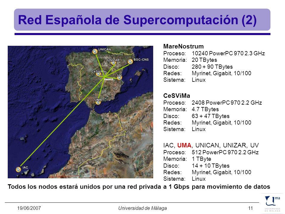 Red Española de Supercomputación (2)