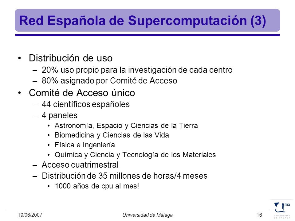 Red Española de Supercomputación (3)