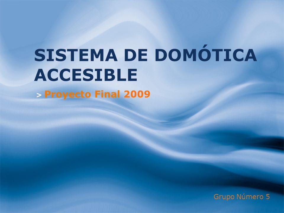 SISTEMA DE DOMÓTICA ACCESIBLE