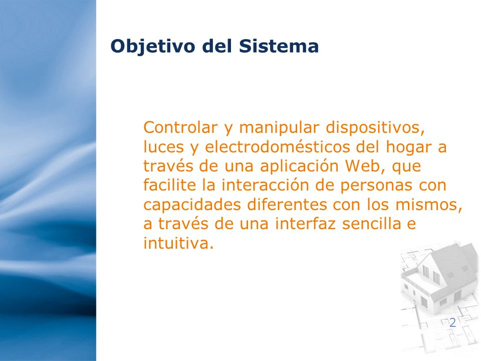 Objetivo del Sistema