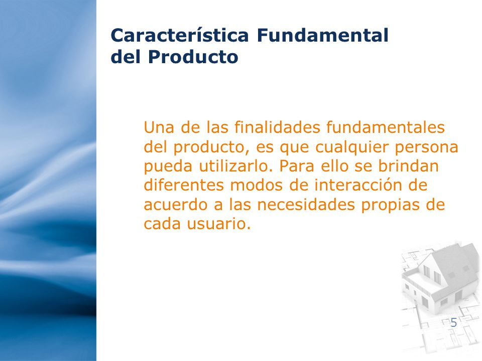 Característica Fundamental del Producto