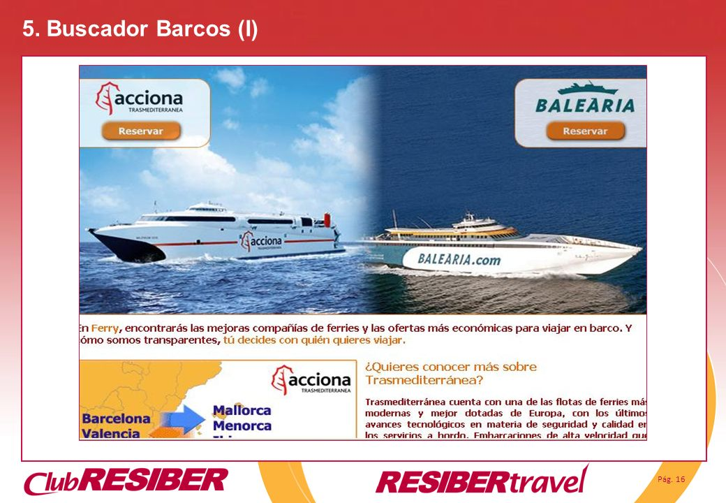 5. Buscador Barcos (I)